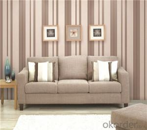 PVC Wallpaper CNBM 3D Waterproof Modern Household PVC Designer Wallpaper