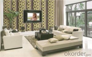 PVC Wallpaper CNBM PVC Wallcovering Waterproof Vinyl Wallpaper New Design Classic Pattern