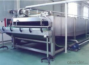 Spraying Cooling Bottle Warming Sterilizer Machine for Packaging Industry