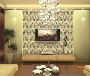PVC Wallpaper CNBM 2016 Similar Xorel Style Fabric Wallpaper