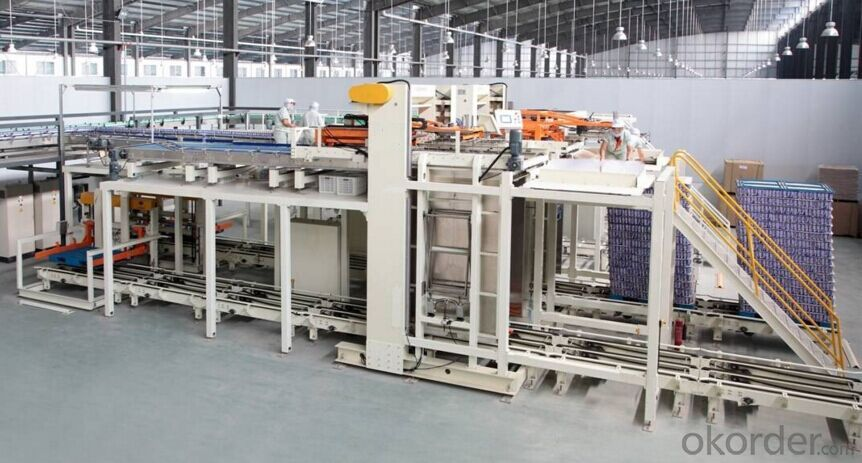 Automatic Depalletizer Machine for Packaging Industry