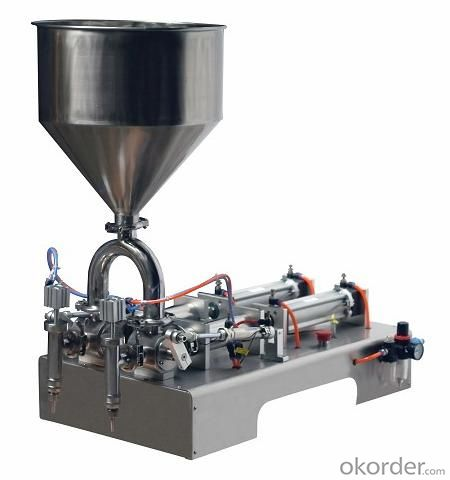 Semi Auto Control Pneumatic Filling Machine For Lotion
