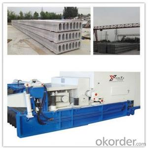 Insulation Concrete Hollow Core Slabs Forming Machine