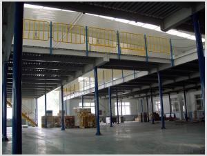 Steel Platform for Warehouse Storage Usage