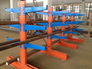 Cantilever Type Pallet Racking System for Warehouse