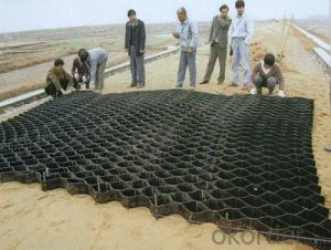 HDPE Plastic Geocell / Geocell Cellular Confinement System