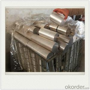 Extrusion AZ31 Rod Magnesium Alloy Anodes Mg Alloy Extrusion for Water Heater