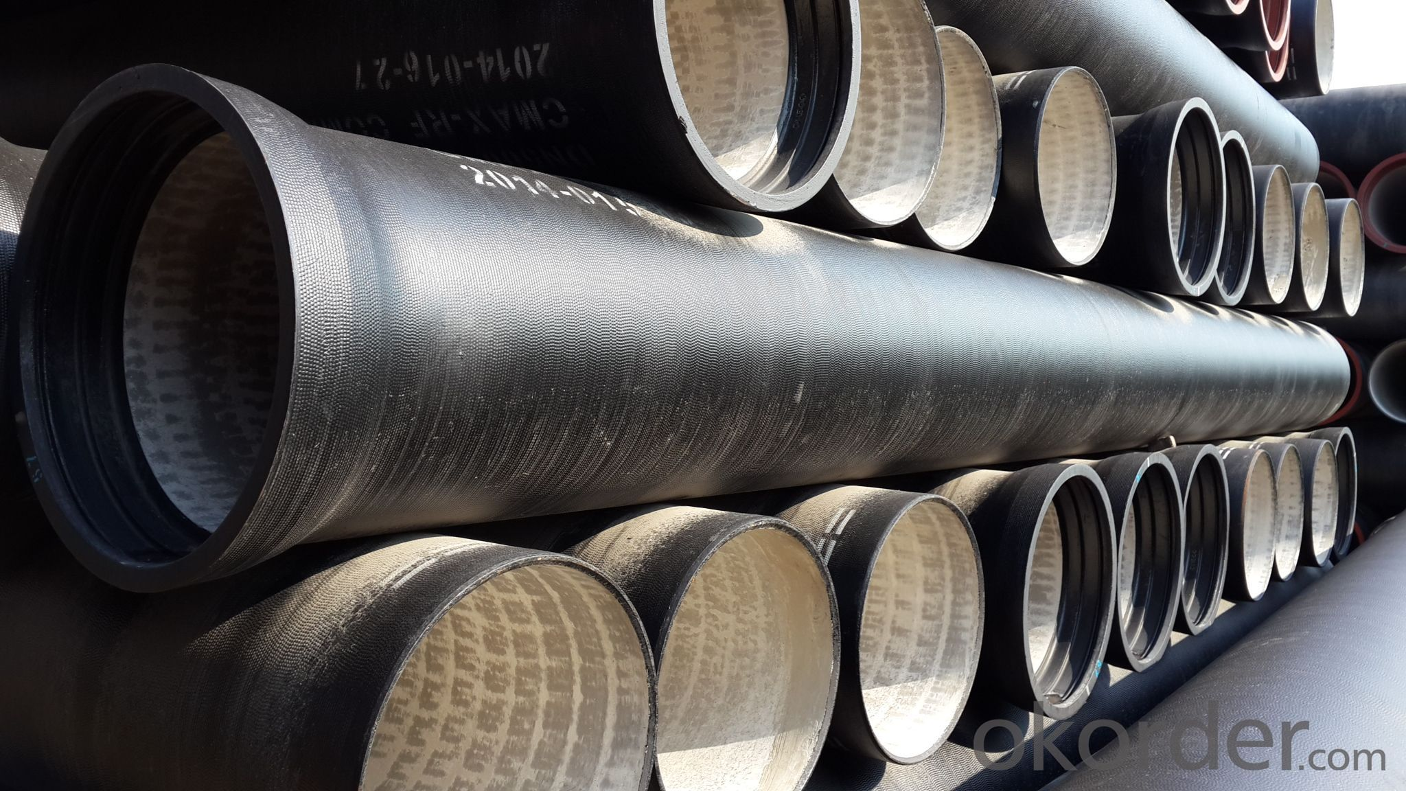Ductile Iron Pipe of China Effective Length 6m/pc