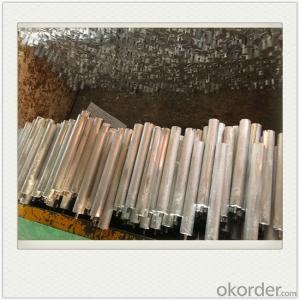 Magnesium Alloy Anodes AM60 Mg Alloy Extrusion for Water Heater