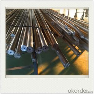 Extrusion AZ61 Rod Magnesium Alloy Anodes Mg Alloy Extrusion for Water Heater