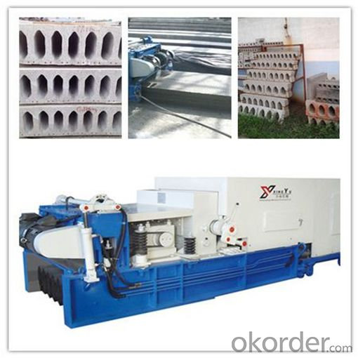 Prefab House Concrete Hollow Core Slab Making Machine