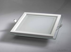Glass round panel lightsThe square panel lightWith themoneyDark deposit