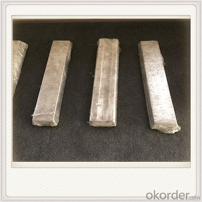 Extrusion AM50 Bar Magnesium Alloy Anodes Mg Alloy Extrusion for Water Heater