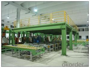 Steel Platform for Warehouse Storage Usage