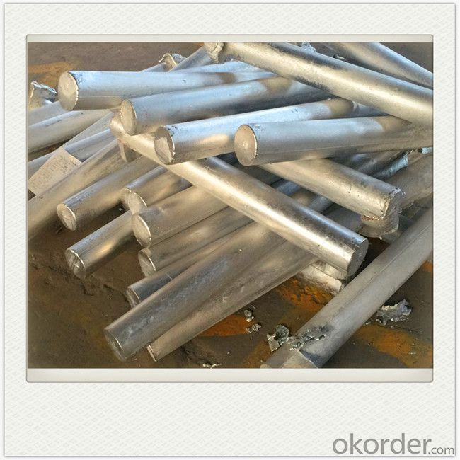 Sacrificial Anode of Magnesium Upon Customer's Require