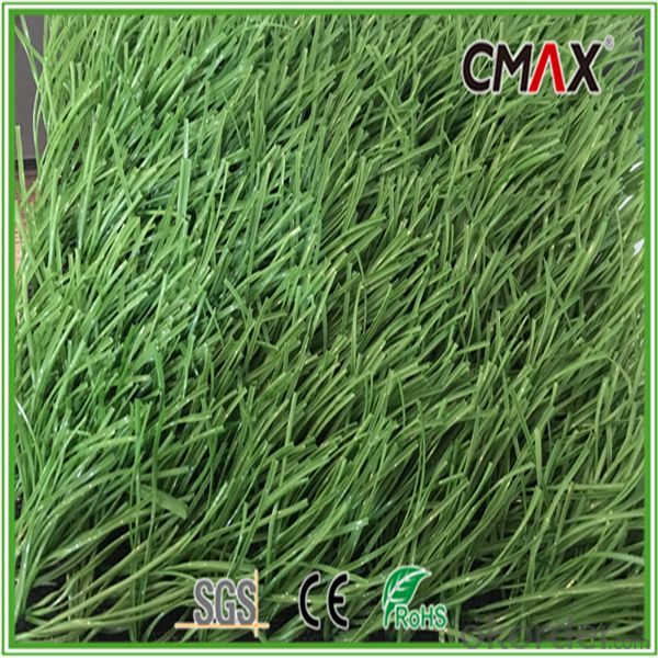 5/8 Inch Lime Green with C-shape Football Soccer Grass-CGS020TS