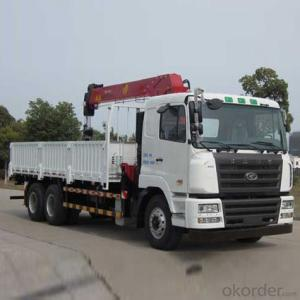 CAMC  Truck mounted crane   Car series Hanma H6