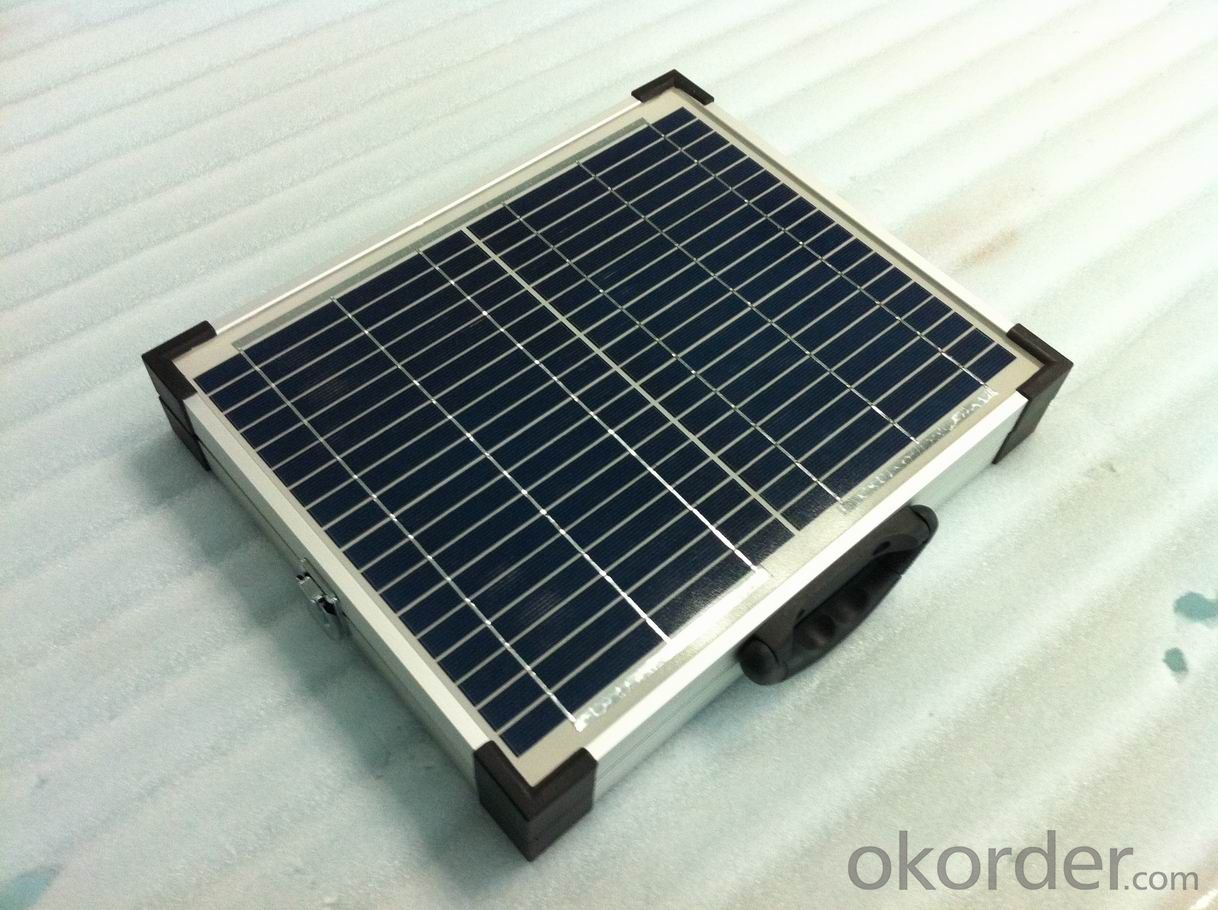 100W Portable Folding Solar Module Made by Monocrystalline Solar Cell
