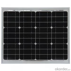 50W Mono Solar Panel for Solar System for Sale