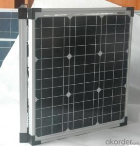 2*100W Mono Crystalline Solar Panel for Sale