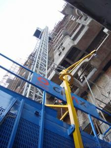 Building Lifting Hoist with Double CageCE Hot Sale