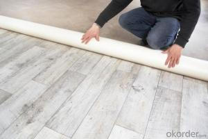 Commercial Anti-Slip Durable Interlocking Vinyl Flooring