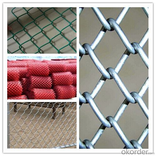 Chain Link Fence (PVC coated and Galvanized) From Factory