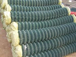 PVC Coated 9 Gauge Chain Link Fence In High Quality