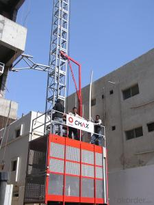 Passenger Building Hoist  CE Certified with Load 2t and 4t