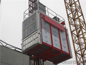 Building Hoist with CE Certificated  Passenger and Material Elevator