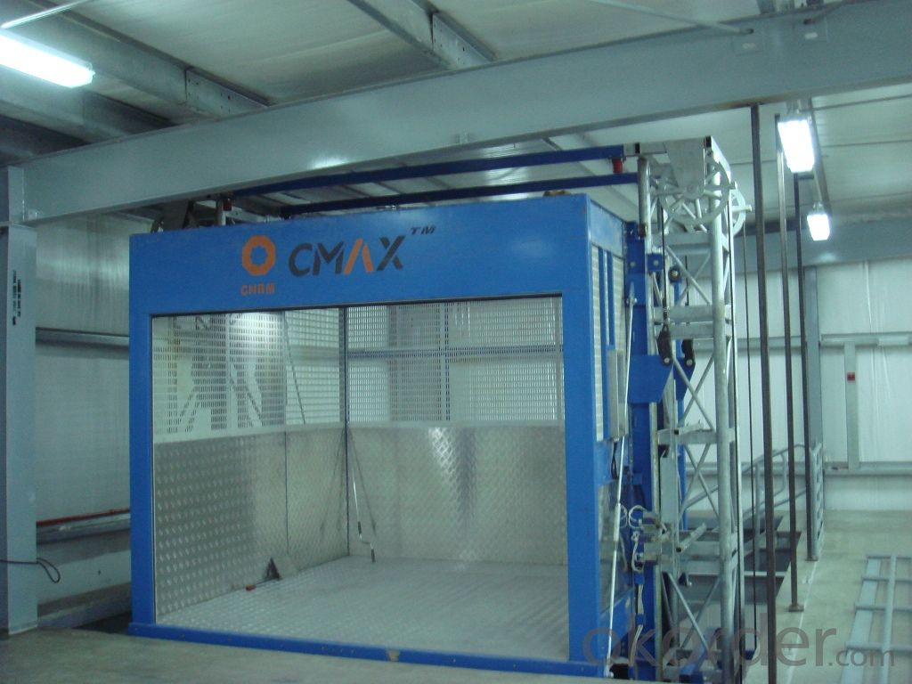 Building Hoist with GOS TNormal Speed CNBM CMAX
