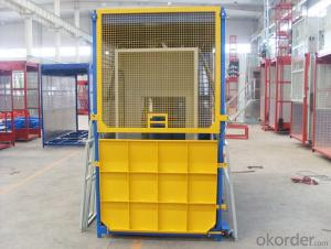 Construction Elevator Building Hoist Lift Building Hoist with CE  SC200/200