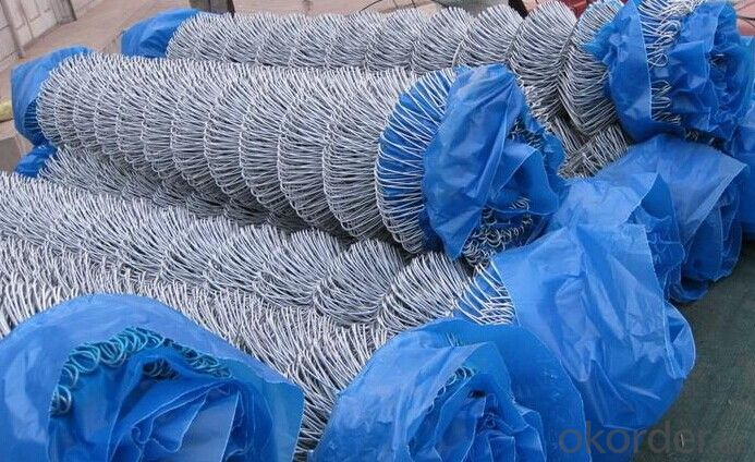 Galvanized Chain Link Fence in High Quality and Factory Price