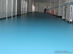 Commercial Non-slip PVC Vinyl Floor Covering 6mm Click
