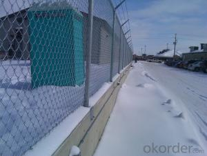 Chain Link Fence/ Glvanized Chain Link Fence/PVC Coated Chain Link Fence
