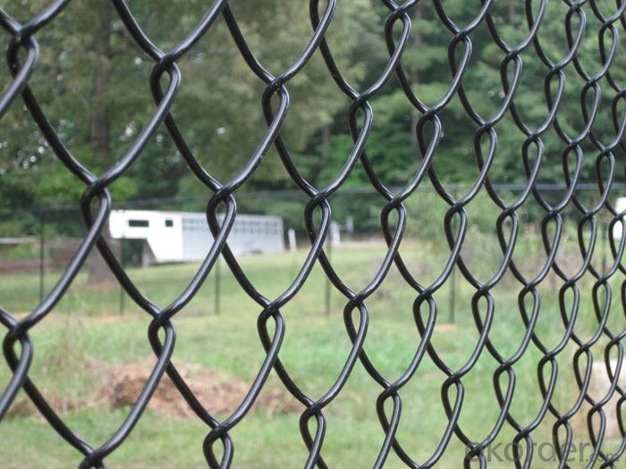 Buy chain link fence gi wire and pvc coated in high