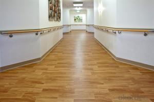 Wood grain pvc Flooring plank Plastic PVC|Vinyl Flooring