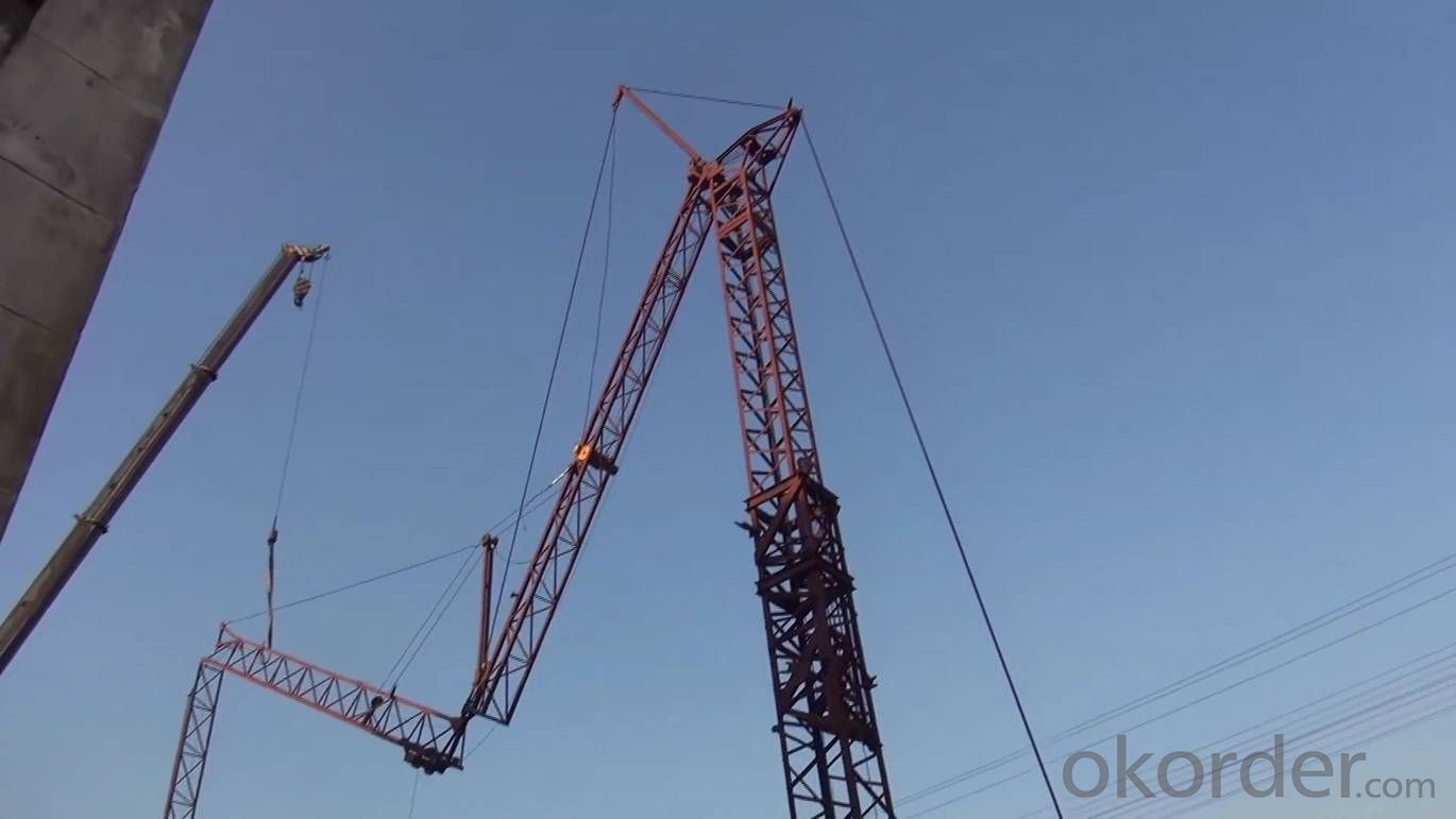 2 Tons Fast Erection Electric Tower Crane