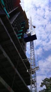 SC200/200 Construction Elevator/Building Hoist
