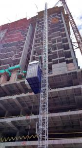SCD250/250 Middle Speed Construction Hoist for Building