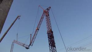 QTZ40 Series 4808 Model Top Kits Tower Crane Self Erecting Tower Crane