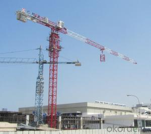 CMAX TTC6013 -6 FLAT TYPE TOWER CRANE WITH Q345B