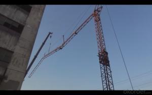 QTZ40 Series 4808 Model Top Kits Tower Crane Self Erecting Tower Crane
