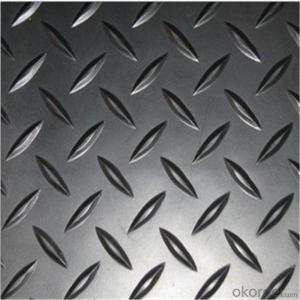 1100 Aluminium Chequer Sheet Plate Five Bars Tread