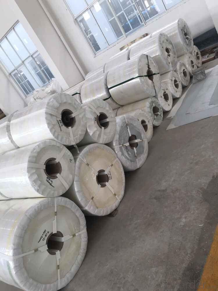 White Food Grade PVC/PU Conveyor Belt for Light Industry