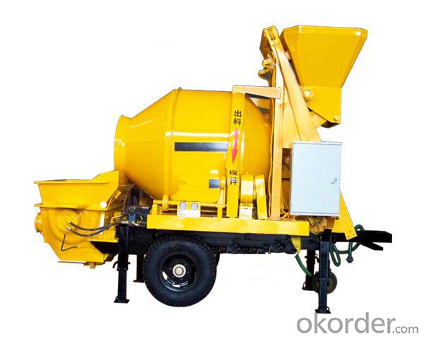 Concrete Mixer and Concrete Pump 40-12-55