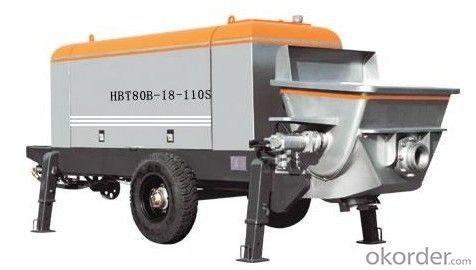 Stationary Concrete Pump HBT80-18-110S Best Seller