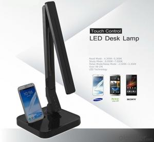 2016 Smart Led Desk Lamp with Samsung Android docking station/USB charger