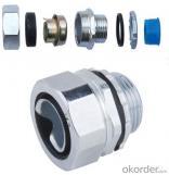 Male Straight Pipe Fitting (DPJ-1) Zinc Alloy Aluminum alloy