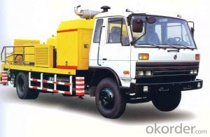 Trailer Mounted Concrete Pump CHB100A176